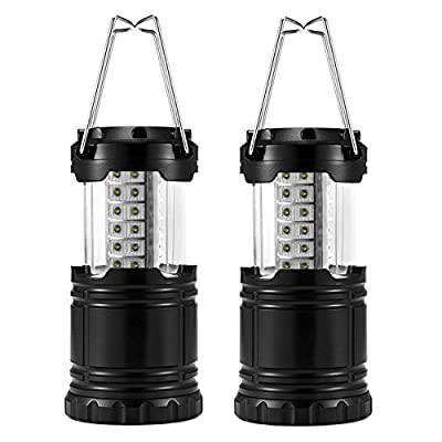 Odoland LED Lantern, 2-In-1 LED Camping Lantern Handheld Flashlights, Camping Gear Equipment for Outdoor Hiking, Camping Supplies, Emergencies, Hurricanes, Outages