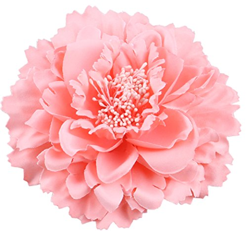 Hair Flower Clips Brooch Boutique Hair Accessories Bohemia Hairpins for Women Girls (Pink) Girl Hawaiian Pin