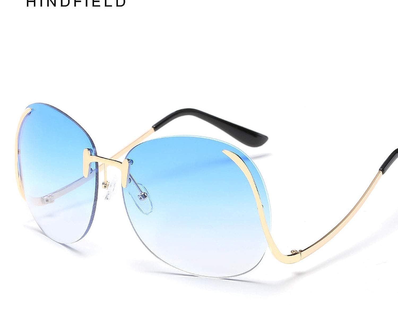 Amazon.com: Gafas de sol sin marco de película marina gafas ...