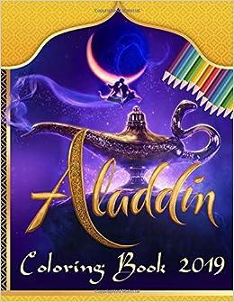 Aladdin Coloring Book 2019 Magic Aladdin Unofficial Coloring Book