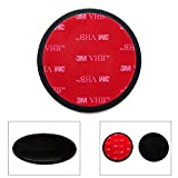 Ramtech 65mm Car Dash Dashboard 3M Adhesive Sticky Suction Cup Mount Disc Disk Pad For Garmin Nuvi and Dezl 560 560LT 560LMT 570 570LMT GPS - DMD65