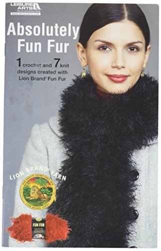 Fun Fur Scarf Pattern (Leisure Arts-Absolutely Fun Fur -Fun Fur)