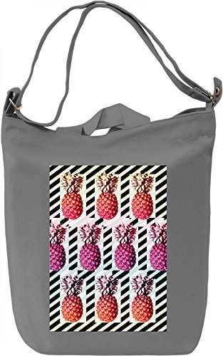 Pineapples Pattern Borsa Giornaliera Canvas Canvas Day Bag| 100% Premium Cotton Canvas| DTG Printing|
