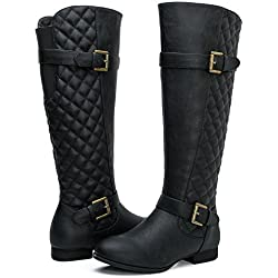 Women's KadiMaya16YY23 Boots (9 M US Women's, 06Black)