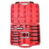 Automotive : Goplus Blind Inner Bearing Puller Hole Remover Extractor Set Slide Hammer Tool Kit (16 PCS)