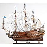 """Soleil Royal Wooden Tall Ship Velero Modelo 36 """"Barco"""