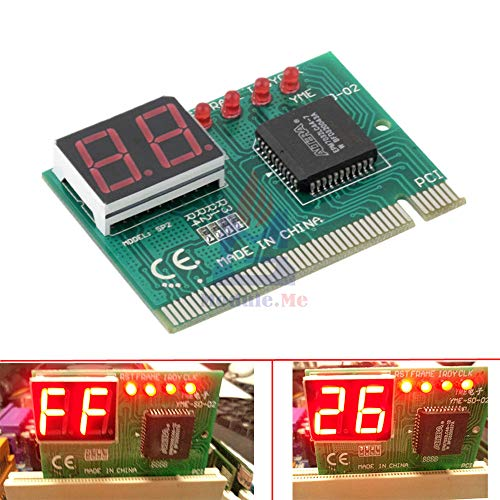 Digital Diagnostic Card PCI Interface Motherboard Analyzer Tester Post Analyzer Checker for PC Laptop Power
