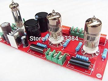 Buffer 6N3+6Z4 Tube SRPP Preamplifier Amplifier board: Amazon co uk