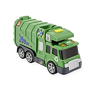 Amazon Com Fast Lane Light Amp Sound Garbage Truck By Toys