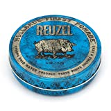 REUZEL Blue Pomade, Strong Hold, Water Soluble, 4