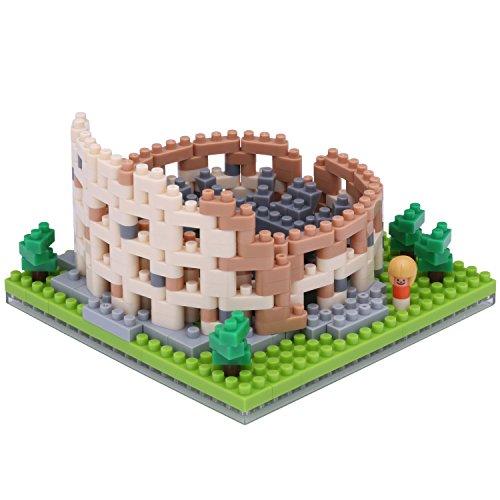 Nanoblock NBH121 Colosseum Building Kit