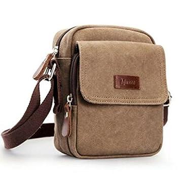 Bolsas de hombro para hombre, bolsa de lona para exteriores ...