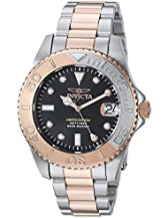 Invicta Womens Pro Diver Quartz Stainless Steel Diving Watch, Color:Two Tone (Model: 24634)