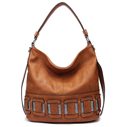 Women Hobo Bags Large New Designer Handbags PU Leather Tote Purses (Designer New Handbags)