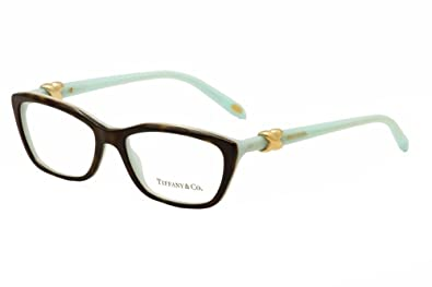 d717f162c6d9 Amazon.com  Tiffany   Co. TF2074 - 8134 Eyeglass Frame TOP HAVANA ...