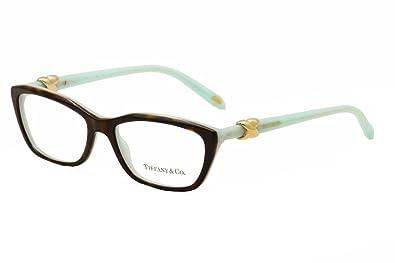 c7e8e8fd7648 Amazon.com  Tiffany   Co. TF2074 - 8134 Eyeglass Frame TOP HAVANA ...