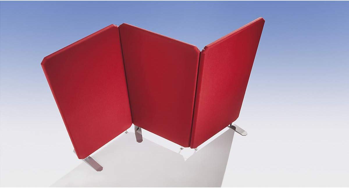 Premium aislamiento acústico de separador – Wandpaneel Altura 1200 mm – Ancho 800 mm, Beige – abtrennung acústica pared acústica paredes paneles para separación Biombo Sistema Biombo sistemas habitación División para insonorización,
