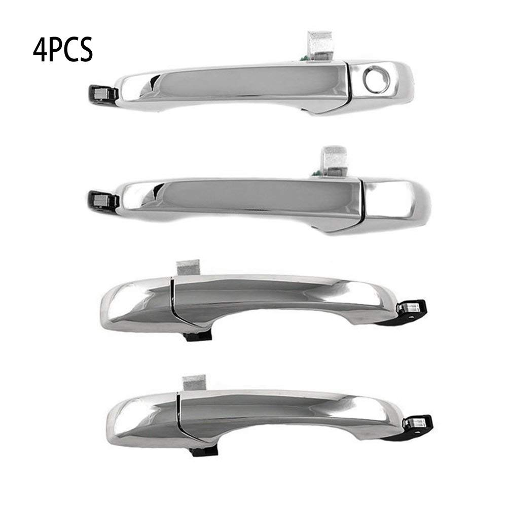HGJVBFGH1 for Chrysler 300C 05-10 for Dodge Magnum 05-08 Charger 07 Outer Door Handle Set White