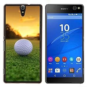 - Golf Ball Sport Tiger - - Cubierta del caso de impacto con el patr??n Art Designs FOR Sony Xperia C5 Ultra Queen Pattern