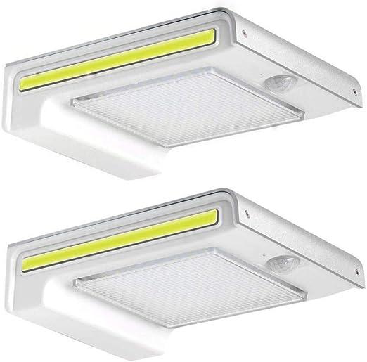 HUI 72 LED Focos Solares, Luces Solares LED Exterior Jardín con ...