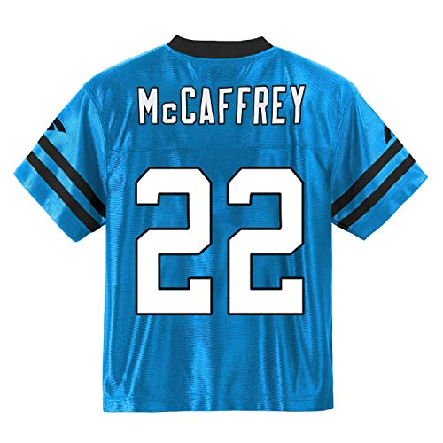 - Outerstuff Christian McCaffrey Carolina Panthers #22 Blue Youth Alternate Player Jersey (Large 14/16)