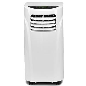 COSTWAY Portable Air Conditioner with Remote Control Dehumidifier Function Window Wall Mount (10,000 BTU)