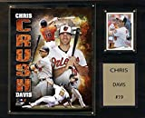 C&I Collectables MLB Baltimore Orioles Chris Davis Player Plaque, 12 x 15-Inch