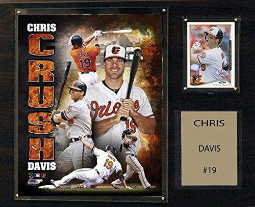 - C&I Collectables MLB Baltimore Orioles Chris Davis Player Plaque, 12 x 15-Inch