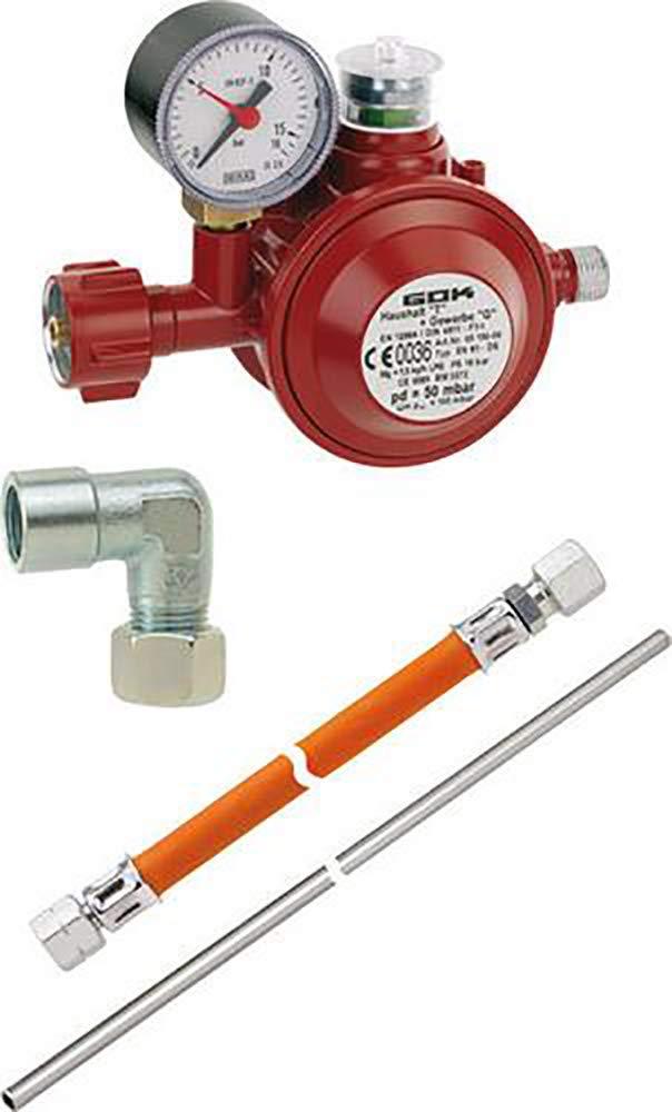 Set de conexión para cocinas de Gas y de Gas vitrocerámica ...