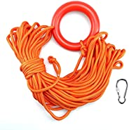 HZFLY Water Floating Lifesaving Rope, 98.4 FT Outdoor Professional Throwing Rescue Rope,Water Life Rope with S