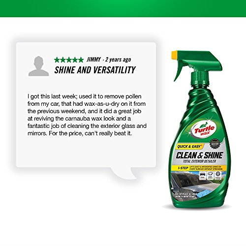 Turtle Wax 50576 Quick & Easy Clean & Shine Total Exterior Detailer - 26 fl. oz.