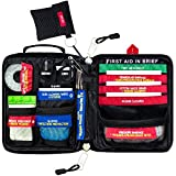 Adventure Aid First Aid Kit - Compact And Lightweight - Ideal For Sport like Camping, Home, Car, Travel & Workplace (included a First Aid Guide)