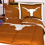 NCAA Texas Longhorns Collegiate 7pc Orange Queen Bedding Set