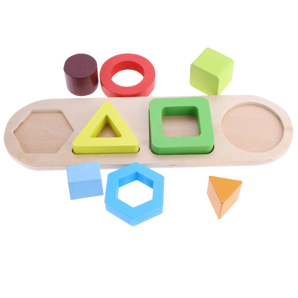 Geométricos Madera Educativos De Ipotch Juguetes Juguete Pila lJ1TKFc3