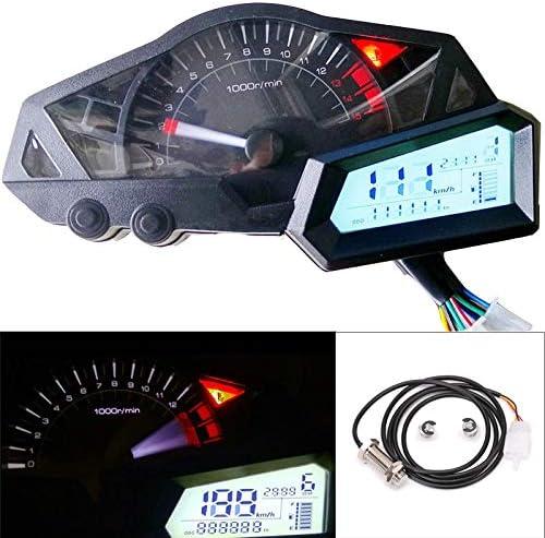 kawasaki ninja 300 wiring diagram amazon com fidgetkute digital speedometer tachometer indicator  digital speedometer tachometer
