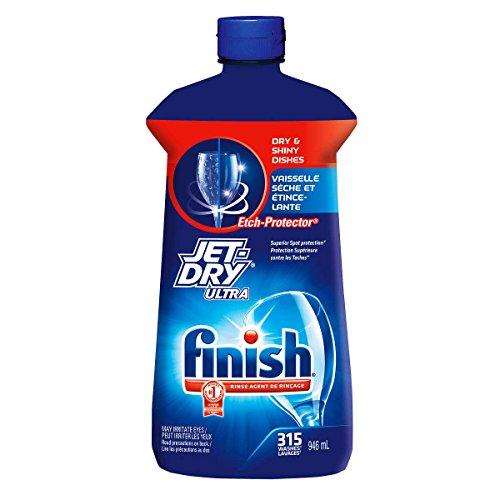 Finish Jet-Dry Rinse Aid, 32oz, Dishwasher Rinse Agent & Drying Agent 315 Washes