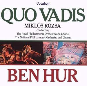 Quo Vadis/Ben Hur. RPO/Rozsa