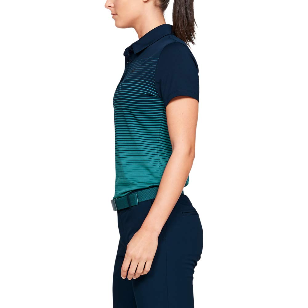 Donna Under Armour Zinger Short Sleeve Novelty Polo