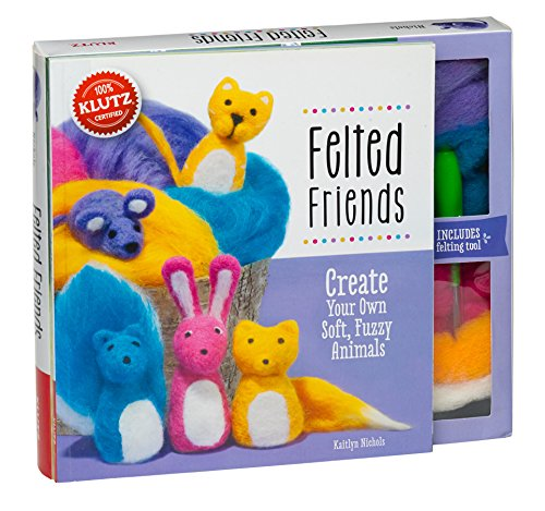 Klutz Felted Friends: Create Your Own Soft, Fuzzy Animals Craft ()