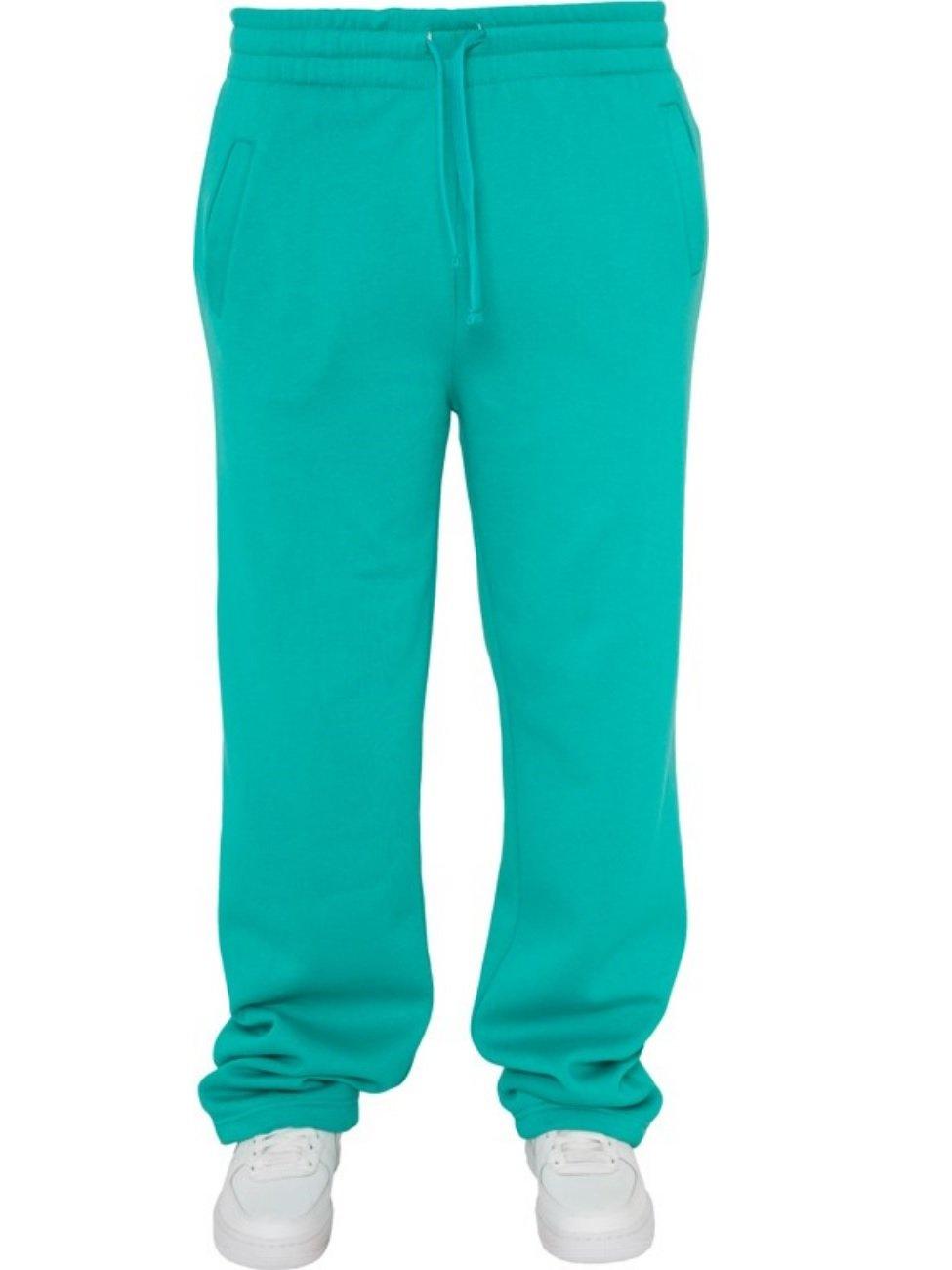 Urban Classics TB078 Damen Sporthose, blau,M