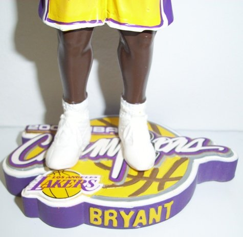 Kobe Bryant L.A. Lakers NBA Champions Bobblehead by Forever Collectibles