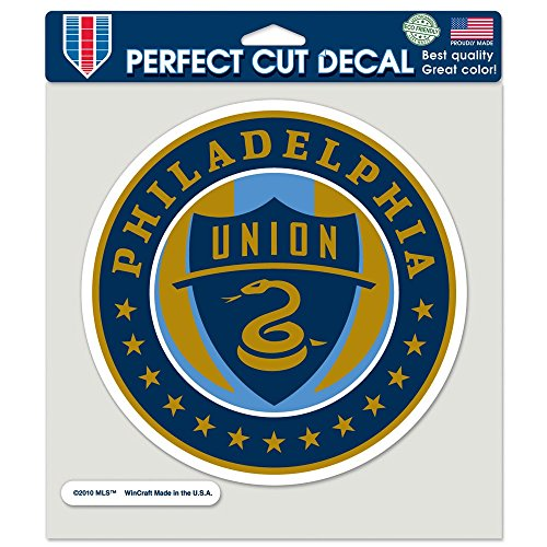 fan products of SOCCER Philadelphia Union Perfect Cut Color Decal, 8