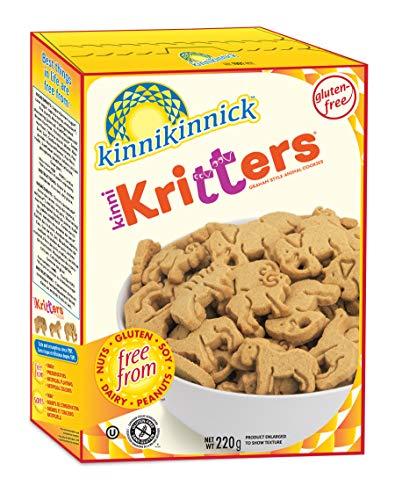 Kinnikinnick Gluten Free Graham Style KinniKritters Animal Cookies, 8 oz