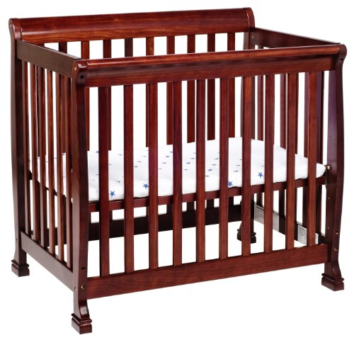 Da Vinci Collection (DaVinci Kalani 2-in-1 Mini Crib and Twin Bed In Rich Cherry)