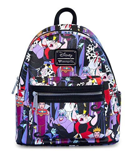 Loungefly x Disney Villains Mini Backpack]()