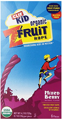 Clif Kids Twisted Fruit Mixed Berry, Organic, 4.2 oz