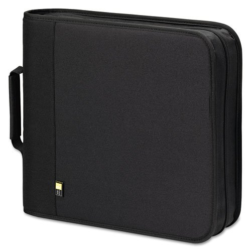 Case Logic - CD/DVD Expandable Binder, Holds 208 Disks, Black BNB-208 (DMi EA