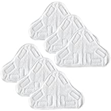 6 Replacement Pads Compatible with H2O H20 Steam Mop X5