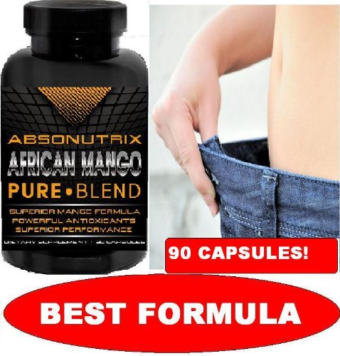 10 Bottles - Absonutrix African Mango - 900 Slimming Capsules Total! - The Most Effective Weight Loss Formula Available Today! by Absonutrix African Mango Pure