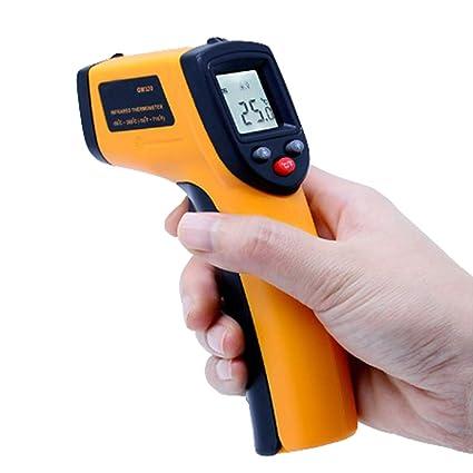 juqilu GM320 Termómetro infrarrojo, Pistola sin Contacto Digital del Laser de la Temperatura del Contacto